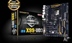 FOR SALE Gigabyte X99-UD3 Motherboard Brand NEW unused