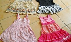 Girl's Clothes, size 4. 25 assorted items. Dresses, T