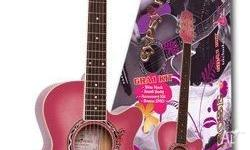 GIRLS ACOUSTIC GUITAR Gypsy Rose Steel String Ideal