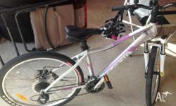 Girls Avanti Mountain Bike, riden only twice since