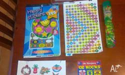 Includes Perspex Girls Beading Kit, Stick on Jewellery