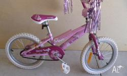 Small pink bike in excellent condition - would suit a