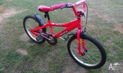 "Girls bike, esperia bambino 20"". Has only been used a"