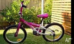 I have a girls Bicycle for sale. Will suit 5 years +.