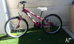Good condition Malvern Star girl's bike. Always kept