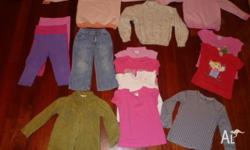 Size 5 Girls Clothes 6 x cotton T-shirts (two