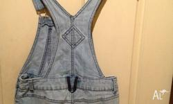Size 10 denim overalls from target excellent condition