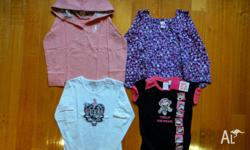 I have for sale 3 x Girls Long Sleeved T/Shirts and 1