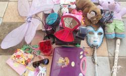 Girls Toys lot - great for holiday activities Jewellery