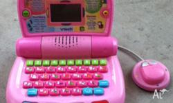 girls laptop toy gc $15 been kept in storage, 2nd hand