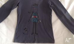 Girls Long Sleeve Top in excellent condition. Size 14