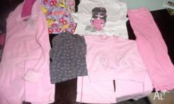 Girls mixed clothing size 5, mixed items from a smoke