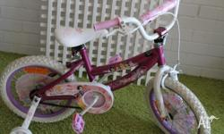 selling girls princess bike. Great for kids. As