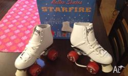 Skates have been worn once only very briefly. They have
