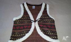 Girls size 12 vest. Excellent condition