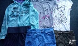 Girls size 14 bundle. Top row: Piping Hot hoodie, fair