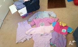 Boxful of various Girls Size 1 clothing. $10 FOR THE