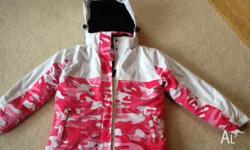 Girls Size 12 Arctic Star Ski Jacket. In very good