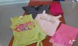 Selling a bulk of girls summer cloths, mix of sizes 5
