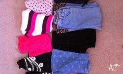 Girls winter clothing in good used condition size