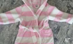 Size 1 Target girls winter dressing gown. So warm and
