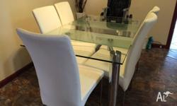must go today Modern glass extendable dining table with