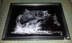 "Hello, i have a hobby of Glass Engraving"""" (scratched"