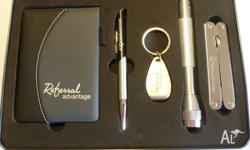 New 'Advantage' Glove Box Gift Set with Stanless steel