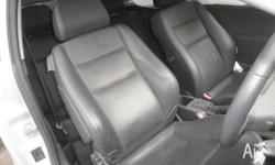 HOLDEN ASTRA AH 3 DOORS FULL LEATHER INTERIOR IN DARK