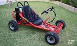 on/off road, Honda engine, hydr disc brakes, new $800.