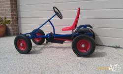 This go kart was bought in the Netherlands and is very