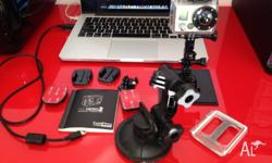 for sale is my Go Pro Hero 2 camera, comes with X4