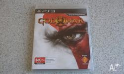 PS3 God of War 3 Great Condition Played once Pick Up