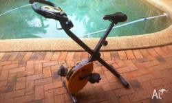 Magnetic resistance exercise bike. Heavy duty