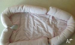 Great Condition. Light pink. Sides can be removed to