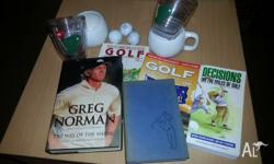 Golf pack includes: Greg Norman - Way of the Shark,