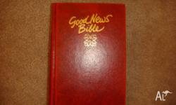 Good News Bible by Bible Society (Hardback) This