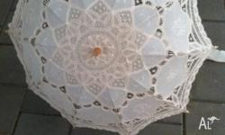Wedding Lace Parasol bought online in Australia from
