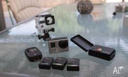 Hello, Up for sale is my GoPro Hero3+ Black Edition.