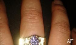 BRAND NEW 9CT GOLD FILLED RING ONLY SELLING AS IT