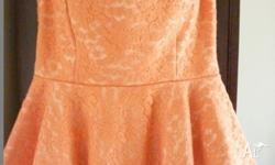 Orange in colour Cute pattern Brand new, never worn
