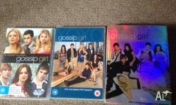 Complete box set season 1-3. All good condition, only