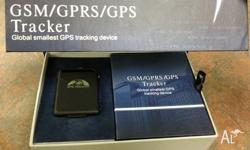 GPS Trackers brand new in box,easy to install and easy