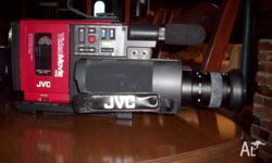 The Video unit comes with 2 Batteries, Charger, Macro