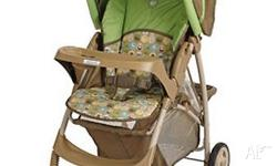 Grace Lite Stroller Easy one-hand-assembly and perfect