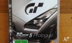 Just selling my game Gran Turismo 5 Prologue for the
