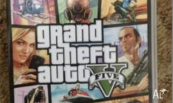 Selling a Grand Theft Auto 5 PS3 game because we are