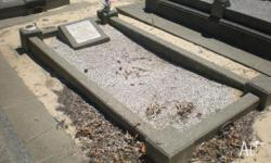- Grave cleaning and tidying - Headstone and plaque