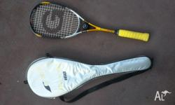 Grays Cambridge 160 reinforced titanium squash racquet