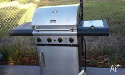 Great 4 burners stainless steel BBQ, CAN delivery at